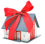 дом в подарок